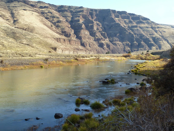 The John Day Canyon - Awesome scenery