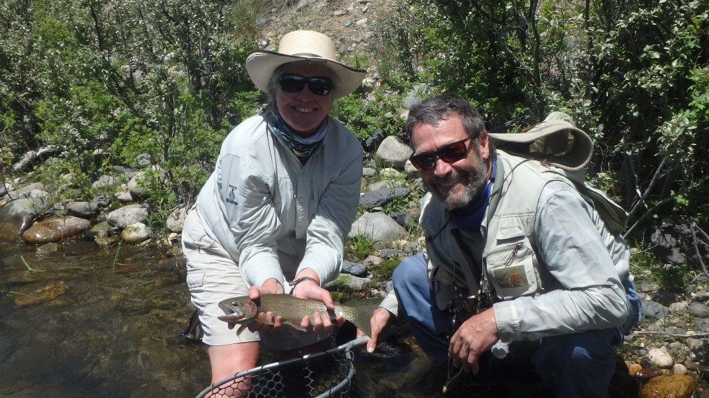 And thank to Verlon, I occasionally get a chance to fish from the boat!